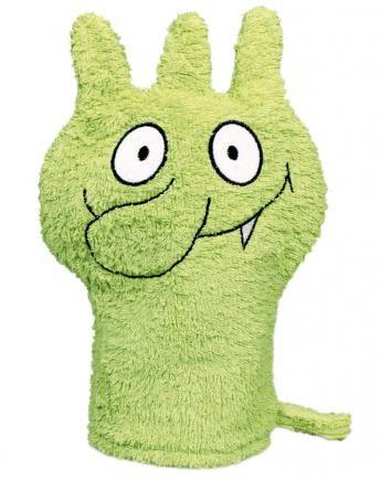 Waschhandschuh DIE OLCHIS in grün