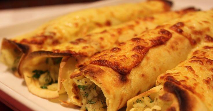 Patatesli krep      Buğday salatası     Böğürtlen soslu muhallebi   İyi haftasonları dileyerek, bu akşam k...