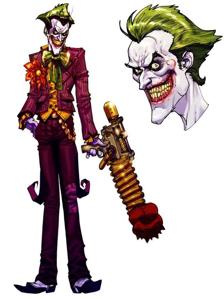 Batman: Arkham Asylum. Character Designs