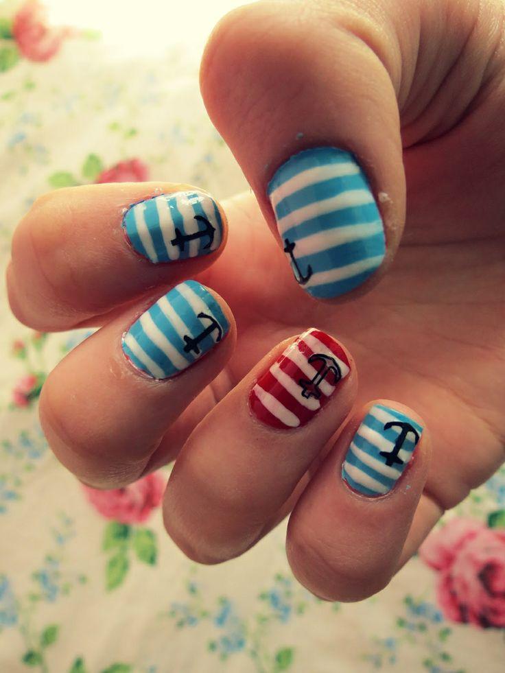 Cute Nail Designs For Spring Break #Spring break n...