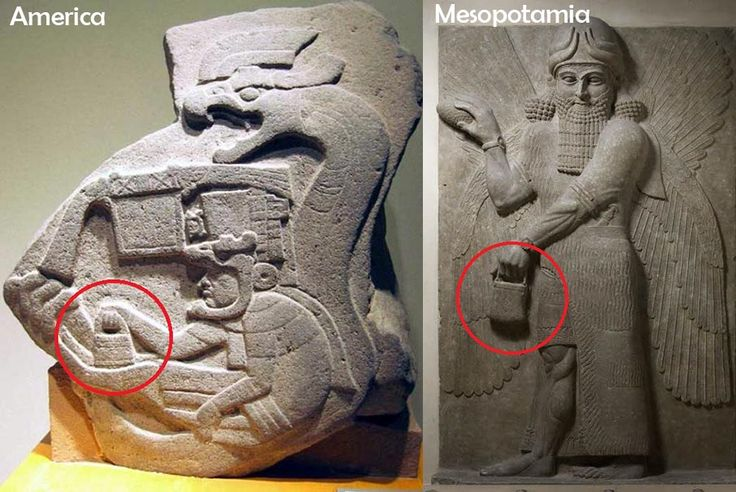 The mystery handbag of the Gods: Depicted in Sumer, America, and Göbekli Tepe   Ancient Code