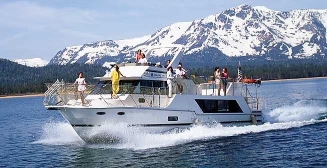 Lake Tahoe Boat Rentals | The Party Boat