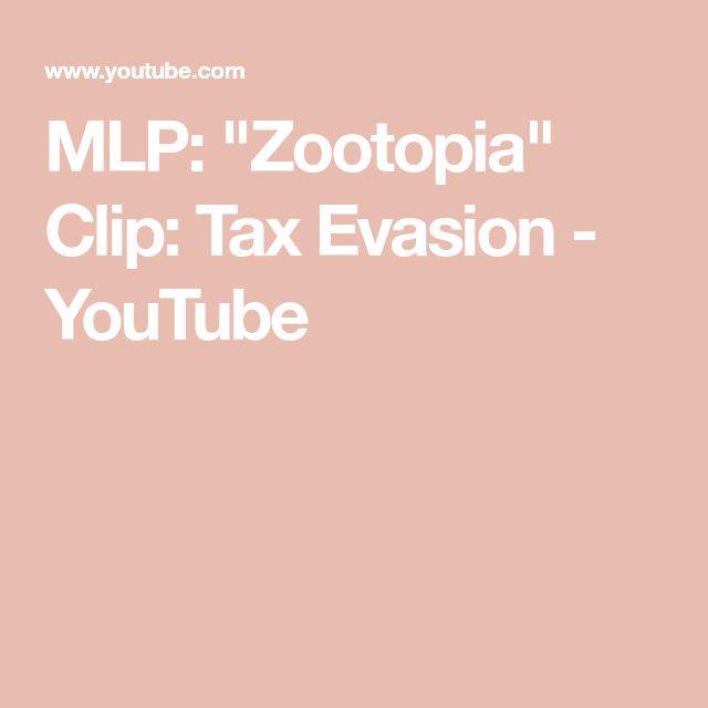 """MLP: """"Zootopia"""" Clip: Tax Evasion - YouTube"""