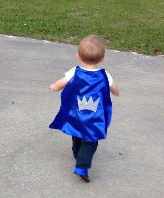 Satin prince cape ByEllenBaby on Etsy. #BabyCenterBlog