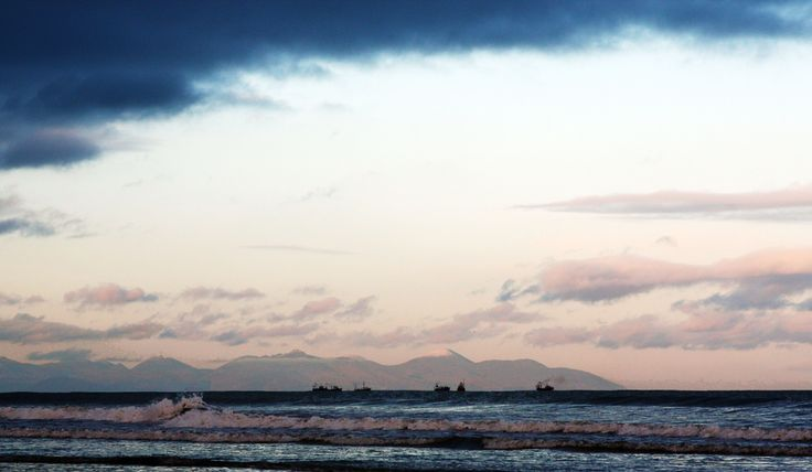 Bettystown to the Mournes view