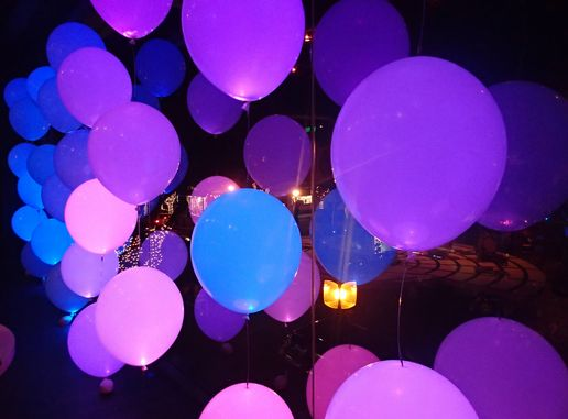 ふわっとした明かりがとっても綺麗な「LEDバルーン」についてご紹介します♡