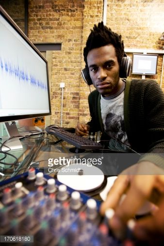 Stock Photo : electronic music