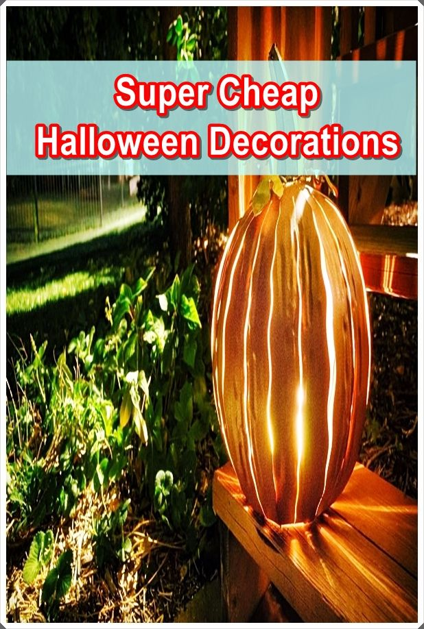 Super Cheap Halloween Decorations Trends 2020