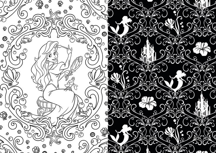 Disney Discovery Disney Art Therapy Adult Coloring Books
