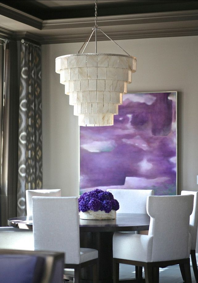 25+ best ideas about Purple dining rooms on Pinterest | Purple ...