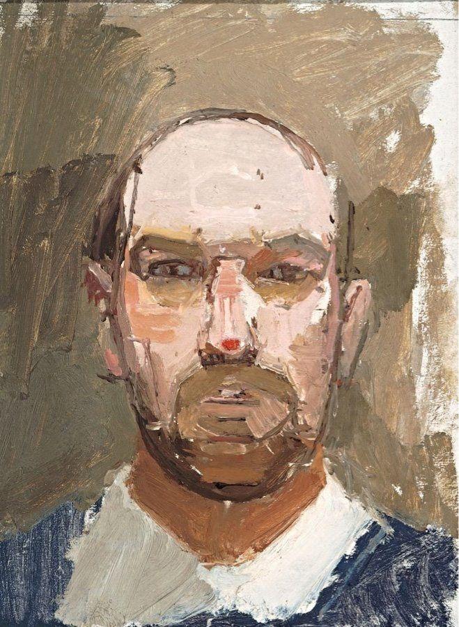 ALONGTIMEALONE: Euan uglow Self portrait