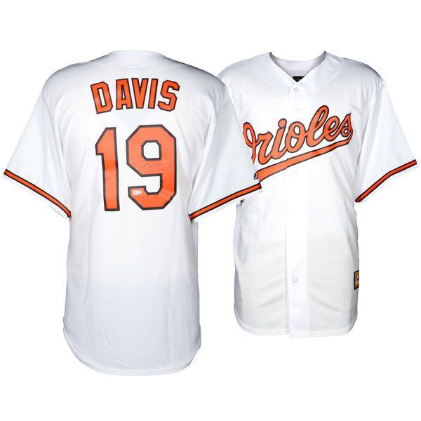Chris Davis Baltimore Orioles Fanatics Authentic Autographed Majestic Replica White Jersey - $299.99