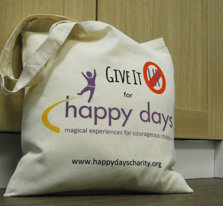A great way to carry all of your things on an immensely fun day out! Check out these great Happy Days Children's Charity Tote Bags... #totebags #promo #charity