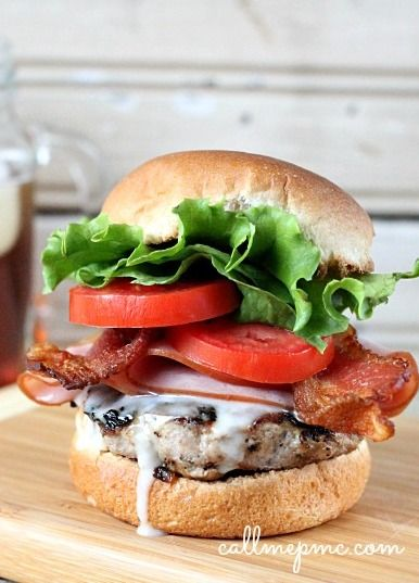 175 Best images about Burgers and More on Pinterest | Bacon, Turkey ...