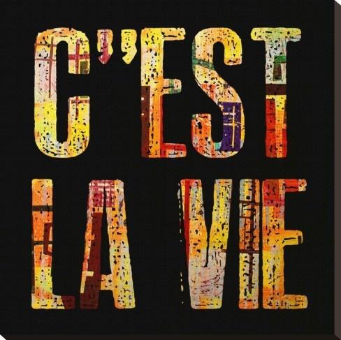 c'est la vie - that is life