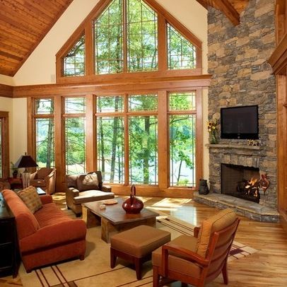 17 best images about fireplace on pinterest arts and for Cathedral ceiling house plans