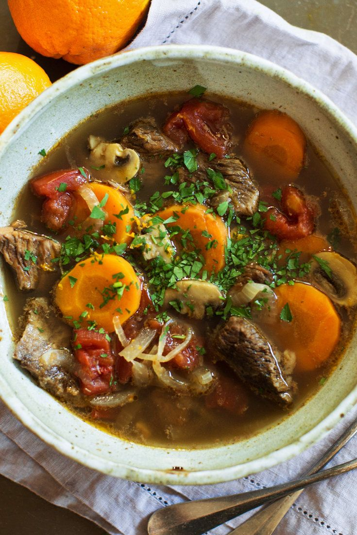 NYT Cooking: A classic Provençal beef daube, or slow-baked stew, is made with quantities of red wine, like the recipes that Julia Child often made in her house in Provence, La Pitchoune. Patricia Wells, a former New York Times food writer in Paris, also lives part-time in the South of France, and she has adapted the daube for white wine, which plays a more subtle part in flavor...