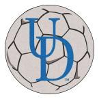 Ncaa University of Delaware Cream (Ivory) 2 ft. 3 in. x 2 ft. 3 in. Round Accent Rug