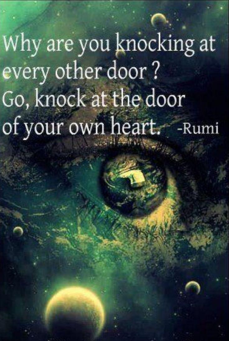 Rumi Quote.. ♥