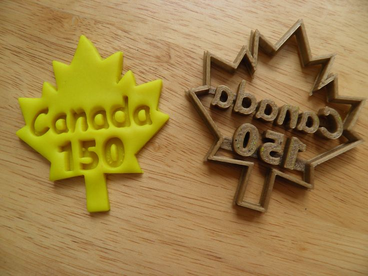 Canada 150 maple leaf cookie cutter 3 SIZES by CurtisMerchandise on Etsy https://www.etsy.com/listing/531489491/canada-150-maple-leaf-cookie-cutter-3