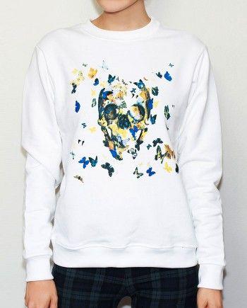 Skull sweatshirt - buy it at http://hotasice.com/shop