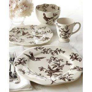 Bird Toile Dinnerware  sc 1 st  Pinterest & 9 best Toile Dinnerware images on Pinterest | Dish sets Canvases ...