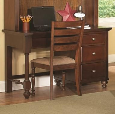 Four Drawers And A Spacious Top Make This Desk A Great Study Place For Your Young Student