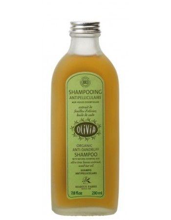 "Shampooing ""Antipelliculaire"" à l'huile de cade, certifié BIO."