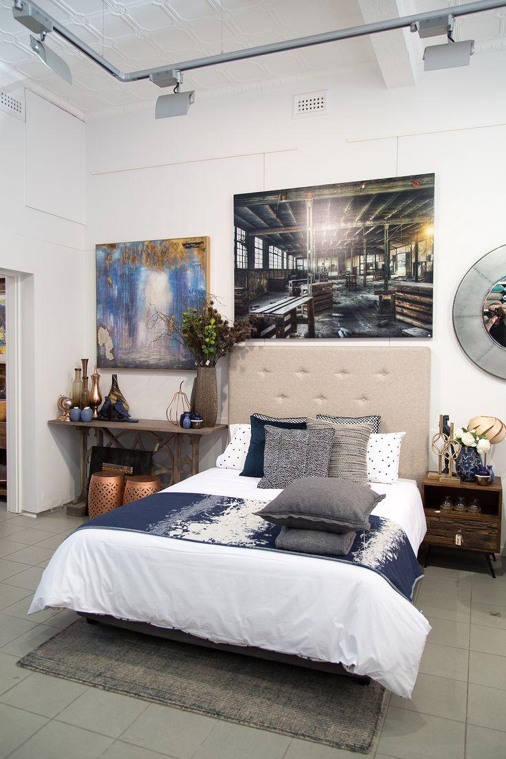 Custom Design Art House bedhead.  Choose you fabric and design.