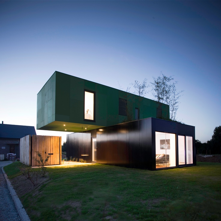 404 best architecture beauty images on pinterest - Maison container design ...