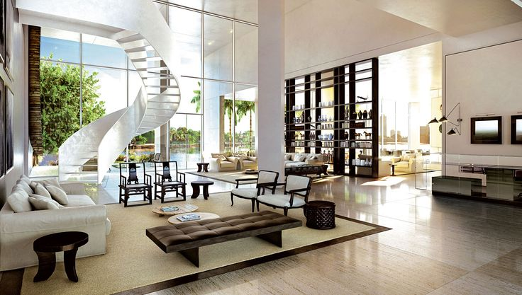 Piero Lissoni Builds an Oasis of Refined Living in Bustling Miami Beach