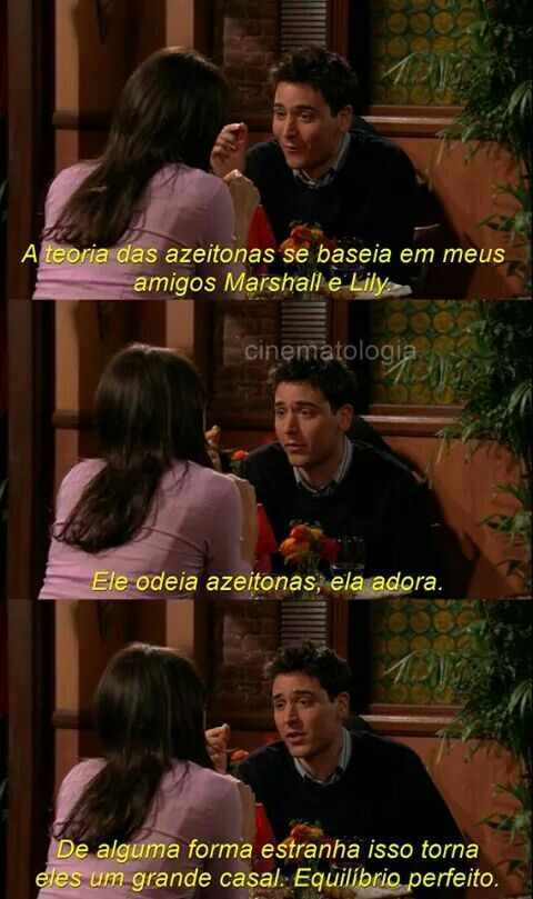 Aaaaaaa Série How I Met Your Mother Himym Teoria Das Azeitonas