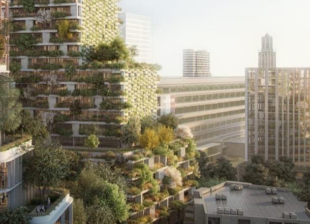 Resultado de imagen para l arquitecto italiano Stefano Boeri, creador de las dos torres de viviendas conocidas como el Bosque Vertical de Milán,