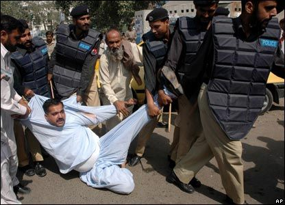 The terror of anti-terrorism   http://www.dailytimes.com.pk/opinion/18-Oct-2014/the-terror-of-anti-terrorism  The ATCs have unleashed terror against labourers, trade union leaders and social activists...   RELATED: http://www.opinion-maker.org/2014/03/pakistan-police-corruption-caused-military-deaths/