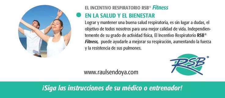 INCENTIVO RESPIRATORIO FITNESS - BIENESTAR  Respira bien, Vive mejor!  www.raulsendoya.com #Incentivo_Respiratorio #Ejercitador_Respiratorio #Ejercitador_para_pulmones #Spirometer #Lung_Exerciser #Estimulador_Respiratorio #Ejercitador_Pulmonar #Ejercicios_de_Respiracion #Entrenamiento_Respiratorio #Respiratory_Exerciser