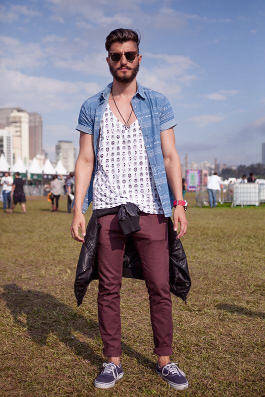 Street Style Lollapalooza 2013 - masculino #men #festival #style