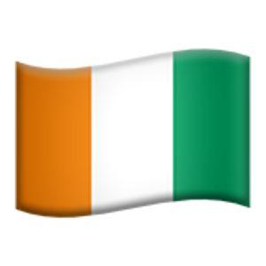 flag of ivory coast (cÔte d'ivoire)