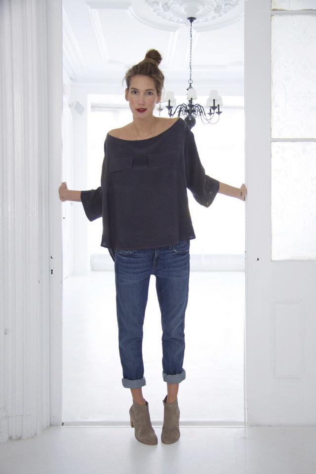 Boyfriend jeans + booties | Style? | Pinterest