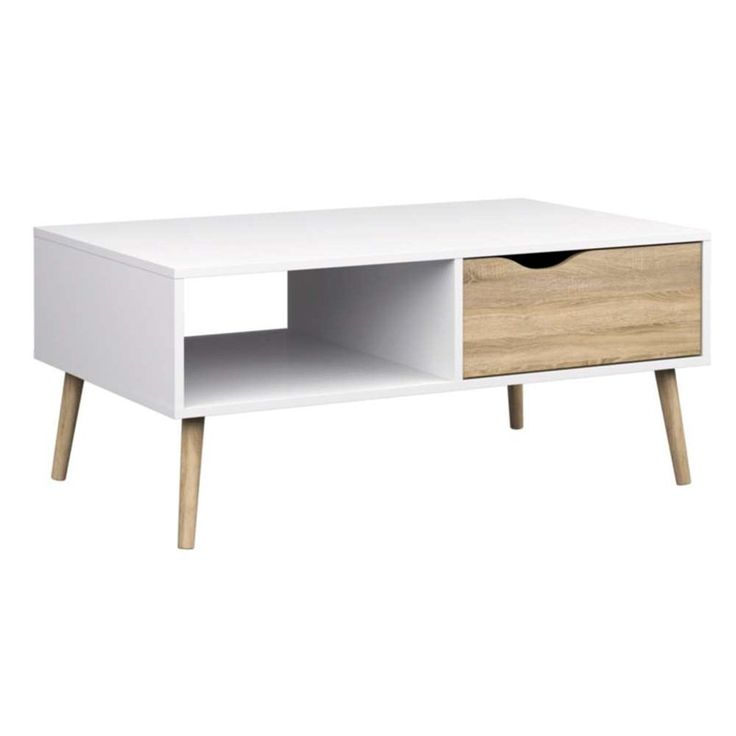 Diana Coffee Table in White Oak