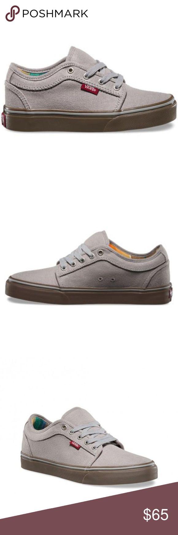 Vans Chukka Low Sneakers (Aztec Stripe) Light Grey Vans Chukka Low Sneakers (Aztec Stripe) Light Grey/Gum Womens 7.5 = Mens 6 Vans Shoes Sneakers