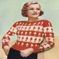1930s Christmas sweater