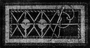 """Point lace techniques as found in the Encyclopedia of Needlework by Thérèse de Dillmont, published in 1884. This chapter is titled """"Irish Lace"""" but read the description as it is about braids & tapes being tacked down and filled with needle weaving, just as with Romanian Point Lace."""