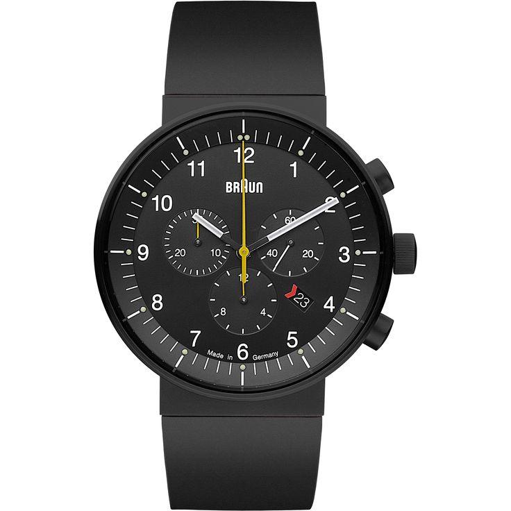 Mens Braun Prestige Chronograph Watch BN0095BKBKBKG