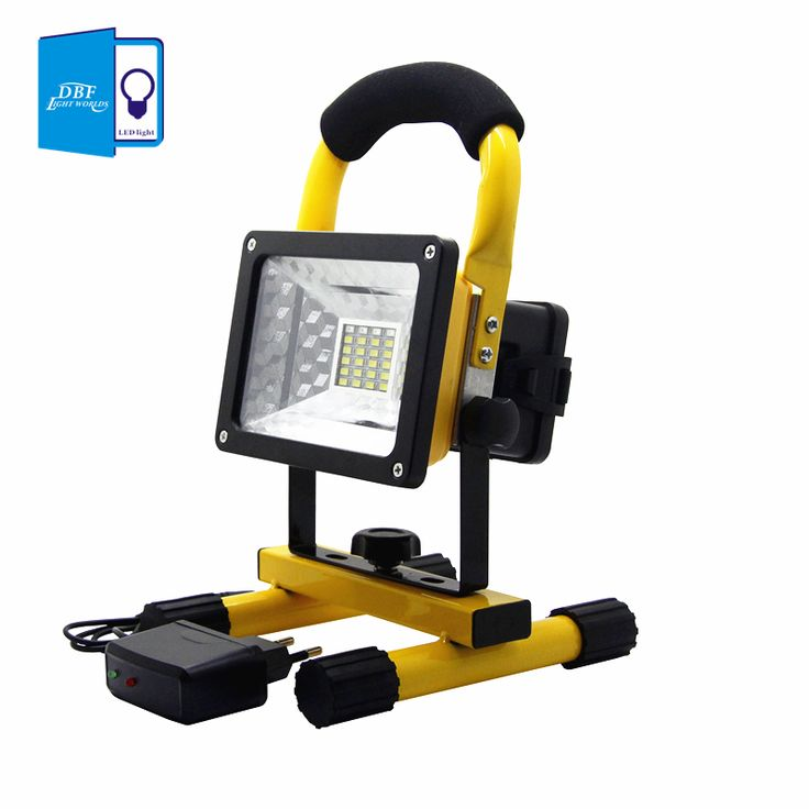 [DBF]Waterproof IP65 SMD3528 24LED 3models 30W LED Flood Light Portable  SpotLights Rechargeable Outdoor
