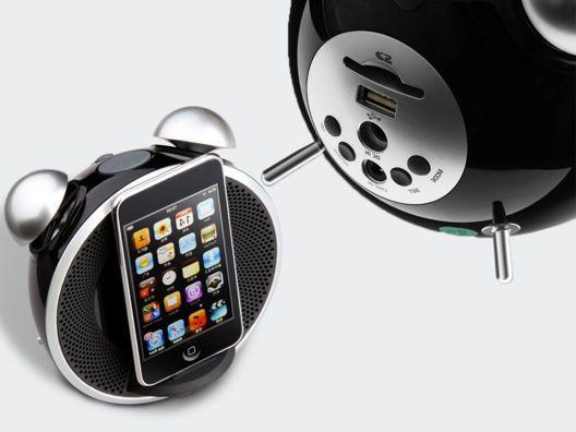 Tick Tock Dock by Edifier: Edifi, Things Apples, Alarm Clock, Techi Stuff, Openski Technology, Apples Ipod, Tock Dock, Ticking Tock, Tech Gadgets