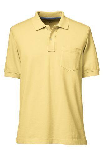 Men's+Mesh+Polo+Shirt+with+Pocket+from+Lands'+End