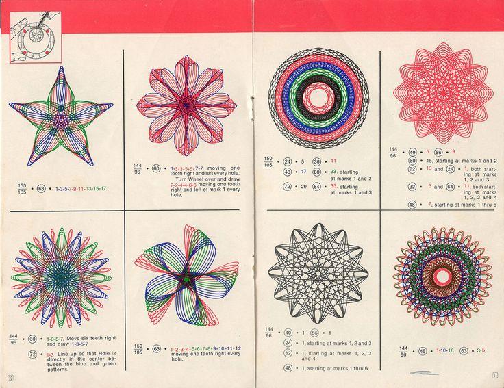 Best 25 Spirograph Art Ideas On Pinterest