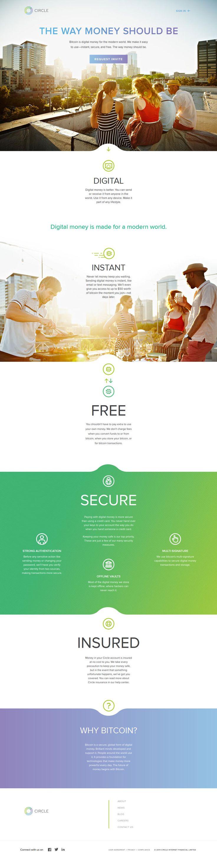 Cool Web Design, Circle. #webdesign #webdevelopment [http://www.pinterest.com/alfredchong/]