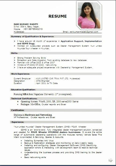 Download Bio Data Sample Template Example Ofexcellent