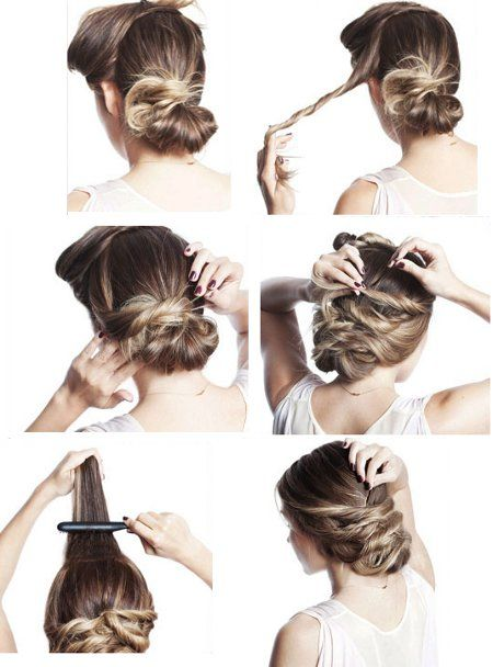 How do romantic hairstyle